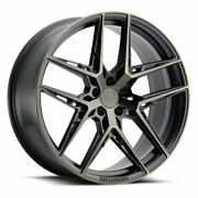 19 Xo Cairo Grey 19x9.5 19x11 Forged Wheels Rims Fits Mustang Shelby Gt350
