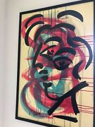 Peter Keil Signed Very Rare Picasso Minimalist 2000 Modernism Expressionist Coa