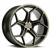20 Xo Helsinki Bronze 20x9 20x10.5 Concave Wheels Rims Fit Cadillac Cts V Coupe