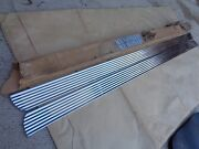 Nos 1960 Ford Falcon Rocker Panel Trim Moldings Stainless Vintage Accessory Kit