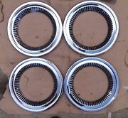 1955 1957 Chevy Cameo Wheel Moldings Beauty Trim Rings Original Gm Deluxe Truck