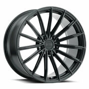 20 Xo London Black 20x9 20x10.5 Concave Wheels Rims Fits Cadillac Cts V Coupe