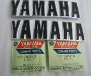 Brand New 1973 Yamaha Rd350 Oem Factory Right / Left Side Gas Fuel Tank Emblems
