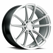 19 Xo Madrid Silver 19x9.5 19x11 Forged Wheels Rims Fits Mustang Shelby Gt350