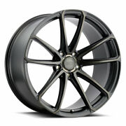 19 Xo Madrid Black 19x9.5 19x11 Forged Wheels Rims Fits Mustang Shelby Gt350
