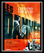 The Damned Visconti 4x6 Ft French Grande Original Movie Poster 1969