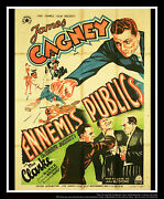 Great Guy James Cagney 4x6 Ft French Grande Movie Poster Original 1936