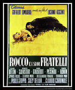 Rocco And His Brothers 55 X 78 Italian Four Sheet Movie Poster Original 1960