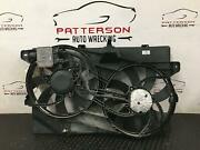2009 Edge Electric Cooling Radiator And Ac Condensor Fan Motor Assy Id 7t4z8c607a