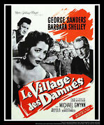 Village Of The Damned 24 X 32 French Moyenne Fold Movie Poster Original 1960