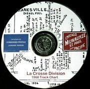 Milwaukee Road Cmstpandp 1968 Lacrosse Division Condensed Profile Pdf Pages On Dvd