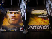 Collateral Damage 5x8 Ft Double Bus Shelter Original Vintage Movie Poster 2002