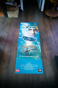 Seaquest Very Rare 20 X 60 French Door Panel Movie Poster Original 1993