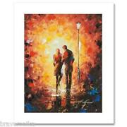 Leonid Afremov Come Together Extremely Limited Edition 1/25 Hand/emb Giclee