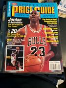 January 1994 Sports Card Price Guide Monthly Michael Jordan Bulls With Cards