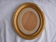 Antique French Gilt Wood Gesso Frame,middle 19th Century.