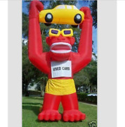 New 20ft 6m Inflatable Advertising Giant Gorilla Holding A Car With Blower