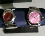 Swatch Swiss Watch Lot Of 2 Womens Watches