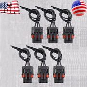 6 X Pulse Power Plug Connector Pigtail Adapter For Polaris General / General 4