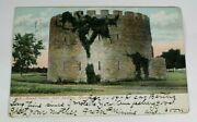 Vintage Round Tower Fort Snelling Minn 1908 Posted Antique Postcard Collectible
