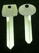 Ford Oem Key Blank Set Fits Many 80and039s-90and039s Models With Long Ignition See List