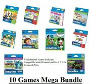 Vtech Innotab Max 10 Games Bundle Brand New Great Value Pack
