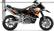 Maxcross Graphics Kit Decals Stickers Full Kit For 950 Sm Style-2