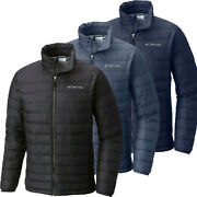 New Mens Columbia White Out Ii Omni-heat Insulated Winter Jacket Coat