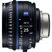 Zeiss Cp.2 85mm F/1.5 Ef Mf Lens For Canon Meters