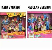 Barbie Birthday Fun At Mcdonalds Rare Asian Version Party For Stacie And Todd