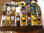 Vintage Old Rare China Chinese Tin Toy Cars   21 Piece