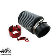 Red Air Filter And Adapter Kit For Predator 301cc 420cc Gx340 Gx390 Clone Engine