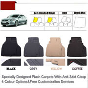 Full Set 1/2thick Solid Nylon Interior Floor Carpet Mats For Ford Mondeo
