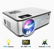 Projector Android Support 4k Videos Via Hdmi Home Cinema Movie Video Projector N