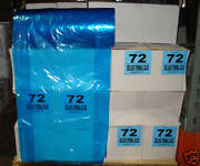 Dry Cleaning 72 Blue Poly Garment Bags 180 Bags/roll