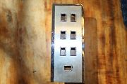 1966 1967 Lincoln Drivers Door Front Armrest Master Switch Plate Bezel