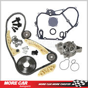 Timing Chain Kit Gasket Water Pump Gear Oiler Bolts Fit Chevrolet Saturn 2.2l