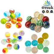 10 X Handmade Marbles Assorted For Kids Art Glass Toys Runs Puzzle Games