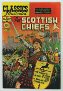 Classics Illustrated 67 4.5 The Scottish Chiefs 1st Ed Ow Pgs 1950