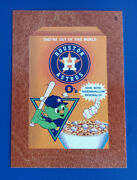 2016 Wacky Packages Ans14 Leather 5 Houston Astros O's /3 @@ Rare @@