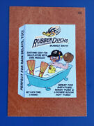 2016 Wacky Packages Ans14 Leather 66 Akron Rubber Ducks /3 @@ Rare @@
