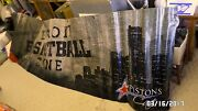 1877mm Huge 12and039x3and039 Detroit Pistons Detroit Basketball Zone Vinyl Banner Clean Vg