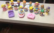 Fisher Price Little People Chunky Baby Fairy Princess Farmer Figures Lot