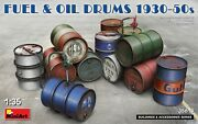 Miniart 35613 - Fuel And Oil Drums 1930-50s. World War Ii. 1/35