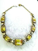 Vintage Florenza Runway Necklace - 16.5
