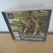Robin Hood The Siege Ps1 Playstation 1 New Sealed Pal Version