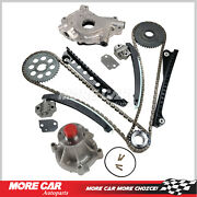 Timing Chain Kit W/ Oil Water Pump Fit 2002 Ford F-150 Expedition 5.4l Gas Sohc