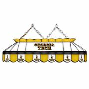 Georgia Tech Yellow Jackets Mvp 40 Stained Glass Pool Table Lamp