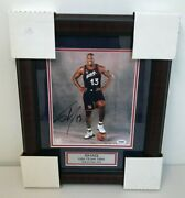 Shaquille Oand039neal Usa Team 1996 Hall Of Fame 2016 8x10 Autographed Photo