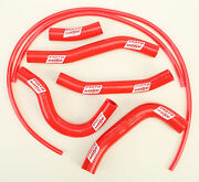 Moto Hose Red Silicone Fuel Line Carb Coolant Hose Kit 24-118r Made In Usa